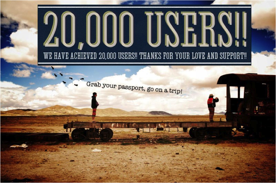 20000Users!!